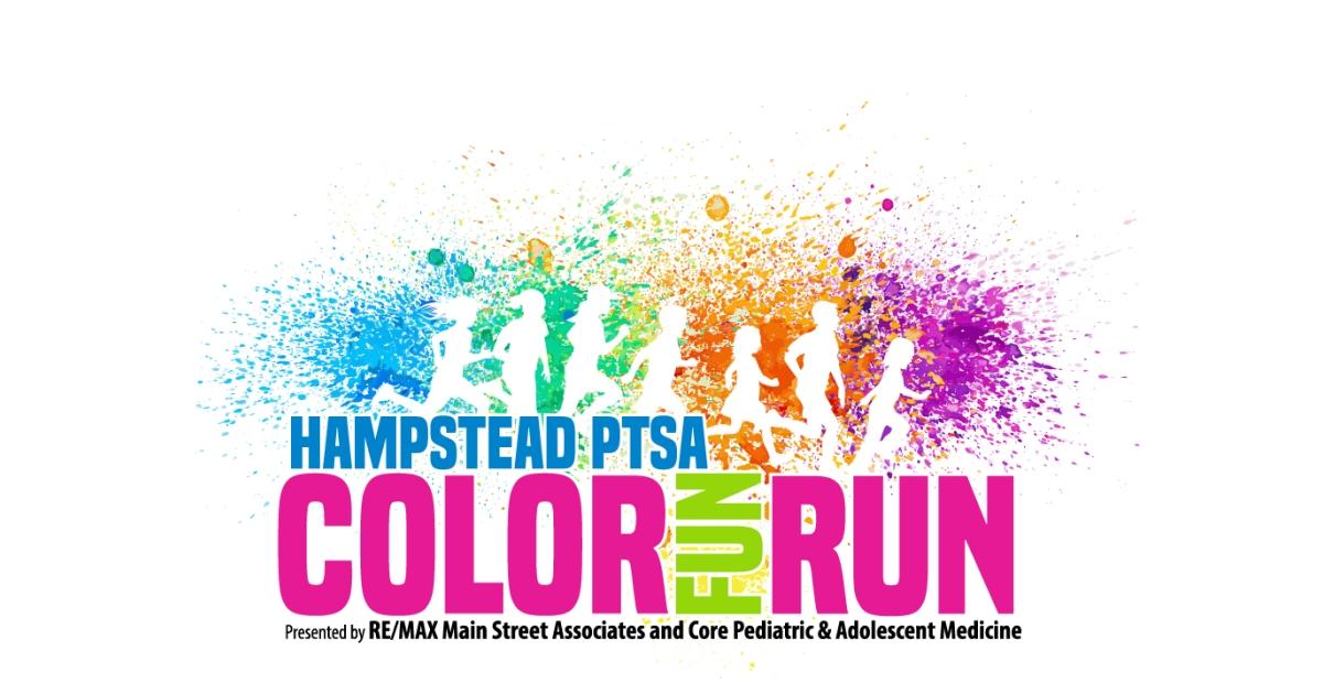 Hampstead PTSA Color FUN Run.