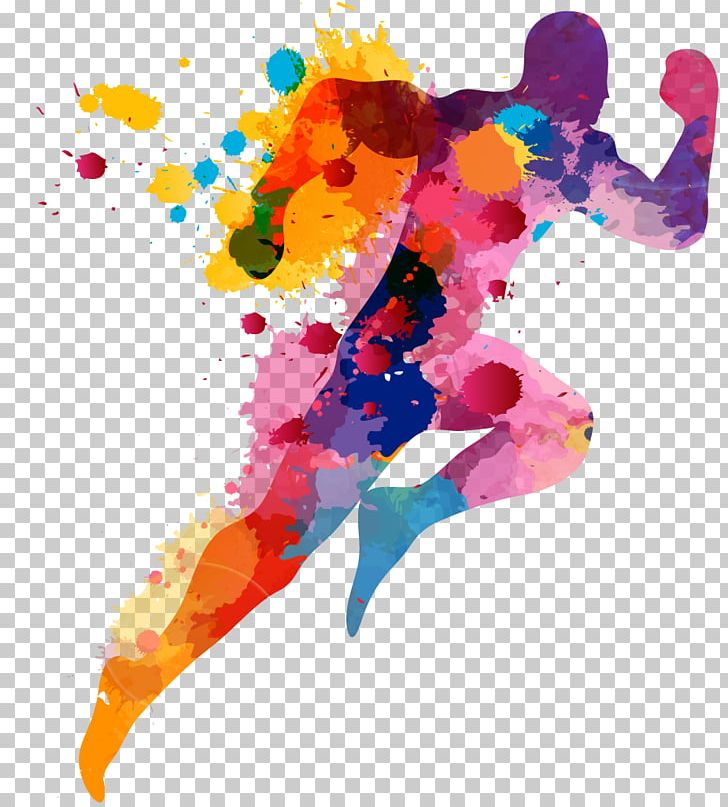 The Color Run Printing PNG, Clipart, Art, Color, Color Run.