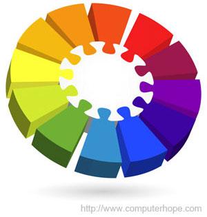What is color scheme?.