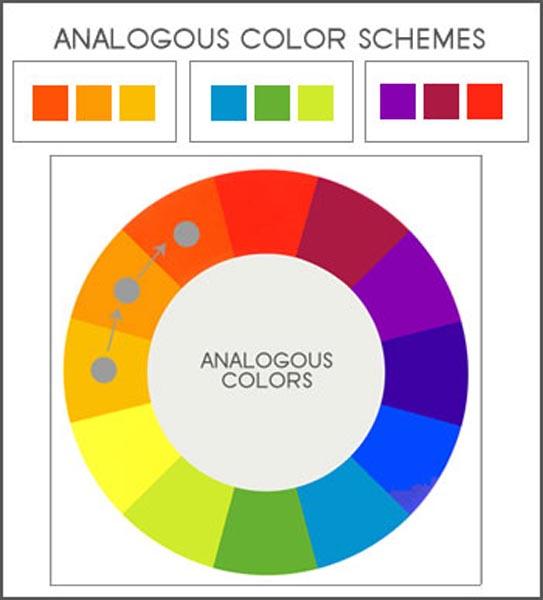 Clipart color scheme example.