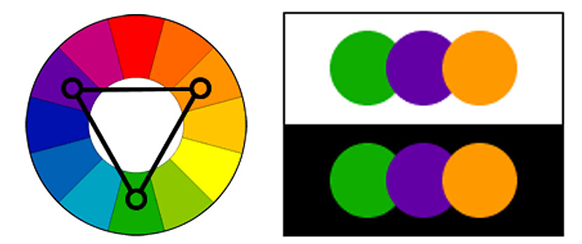Clipart Color Scheme Example