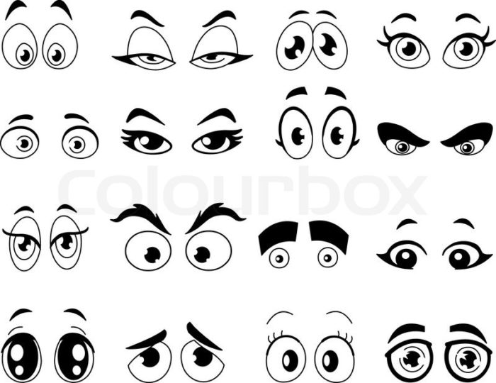 Eye Coloring Sheet.
