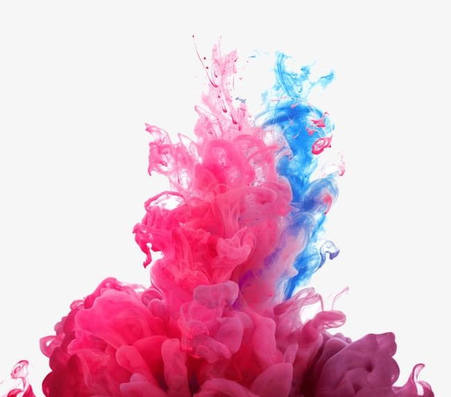 Multicolored Color Smoke PNG, Clipart, Abstract, Banner.