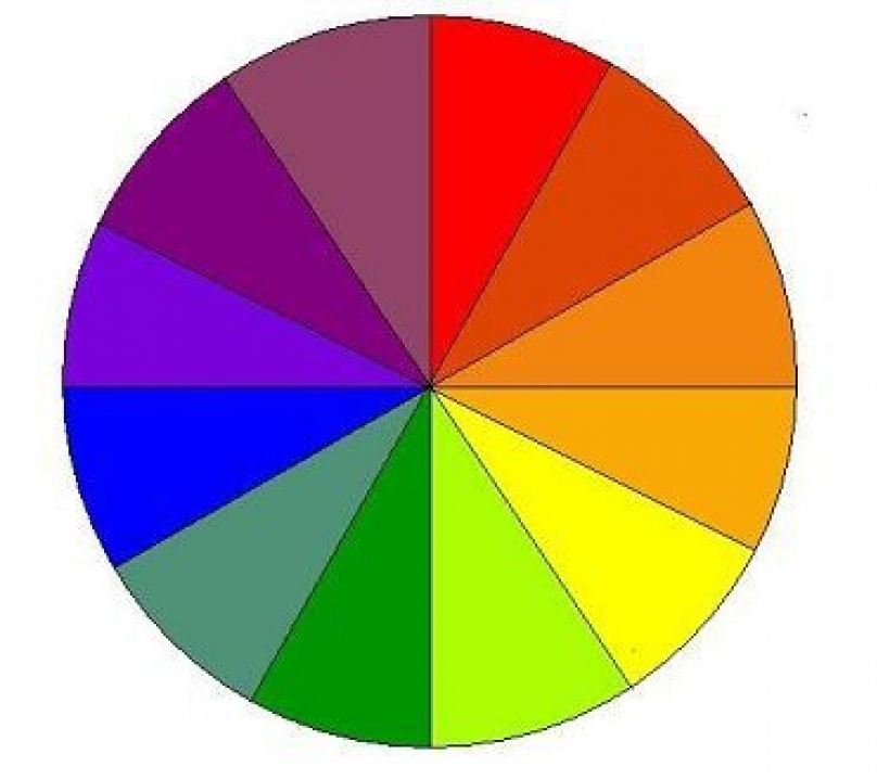 Color wheel images free clipart.