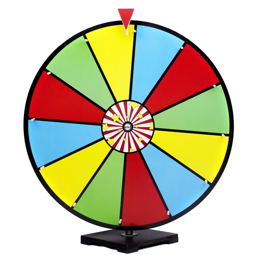 Prize Wheel Clipart.