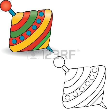 1,033 Spinning Top Stock Vector Illustration And Royalty Free.