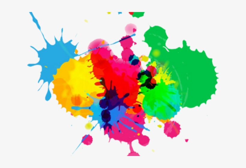 Colouful Clipart Color Splash.