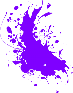 Color Splat Transparent Clipart.