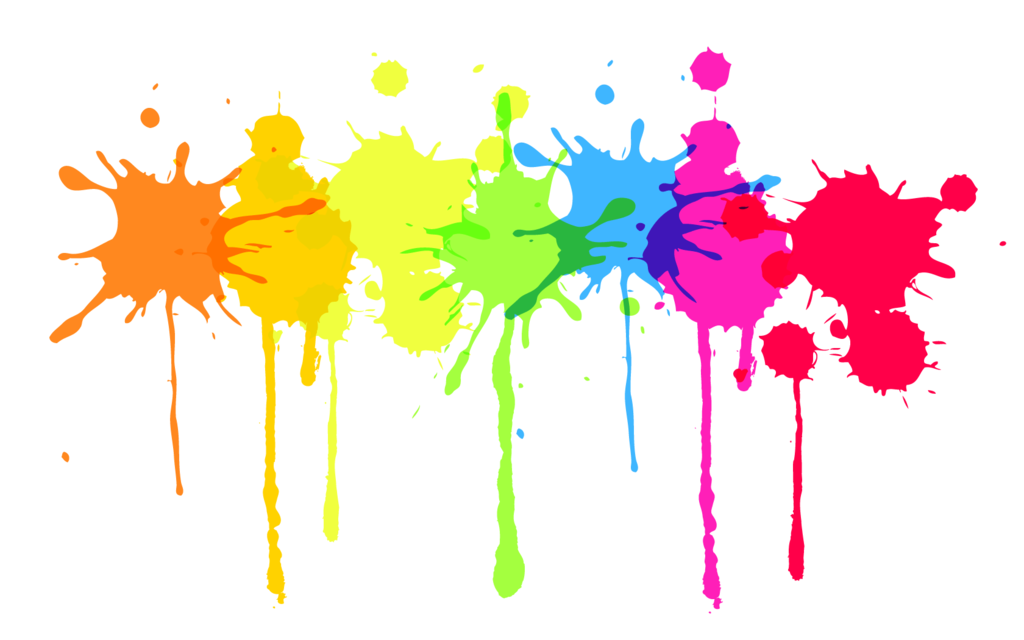 Paint Splatter Transparent Background.