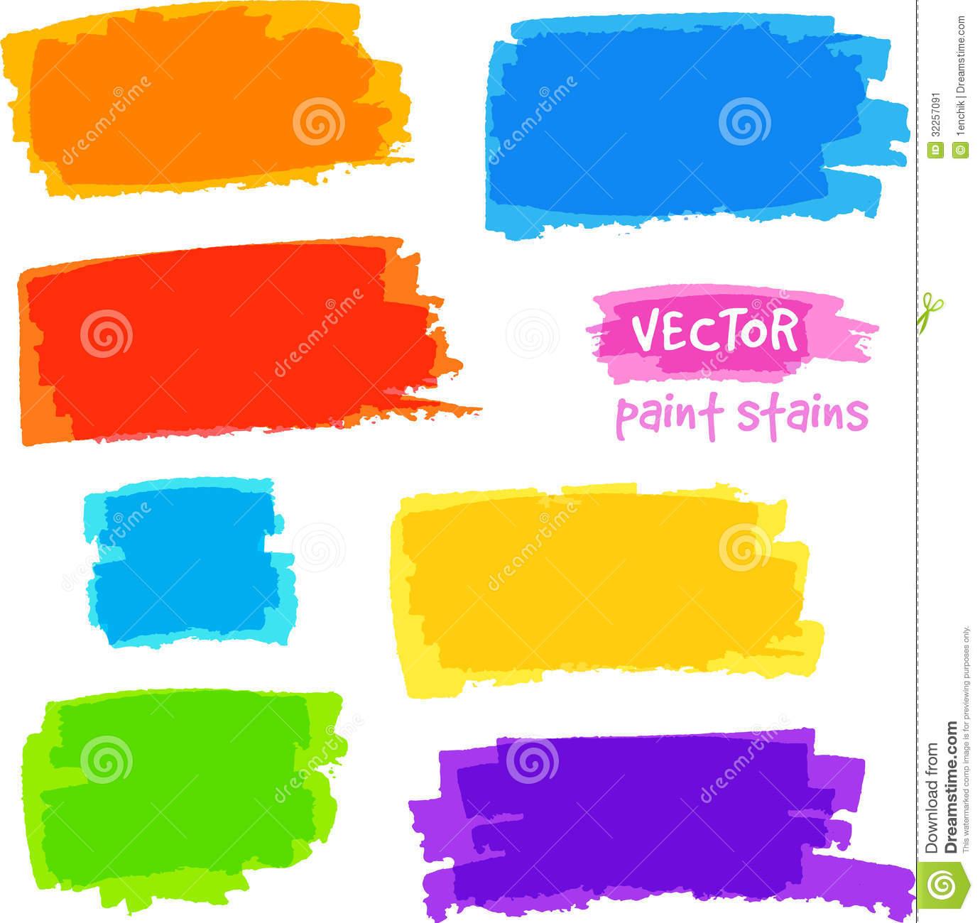 Color spot clipart.