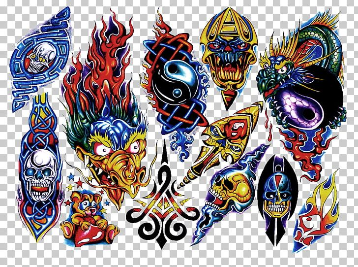 Flash Tattoo Artist Color Sleeve Tattoo PNG, Clipart, Color.