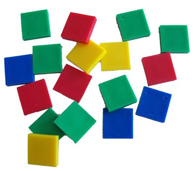 Color tiles clipart.