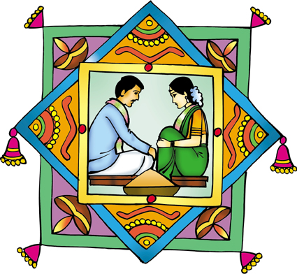 Wedding Color Clipart.