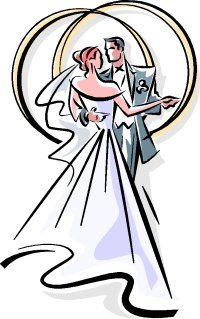 Cards Wedding Decorations And Design Vector Graphics Clipart.