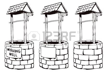 268 Wishing Well Stock Vector Illustration And Royalty Free.