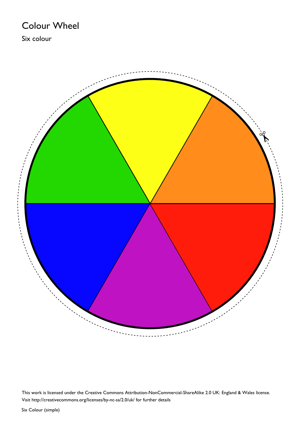 color wheel template printable clipart best.