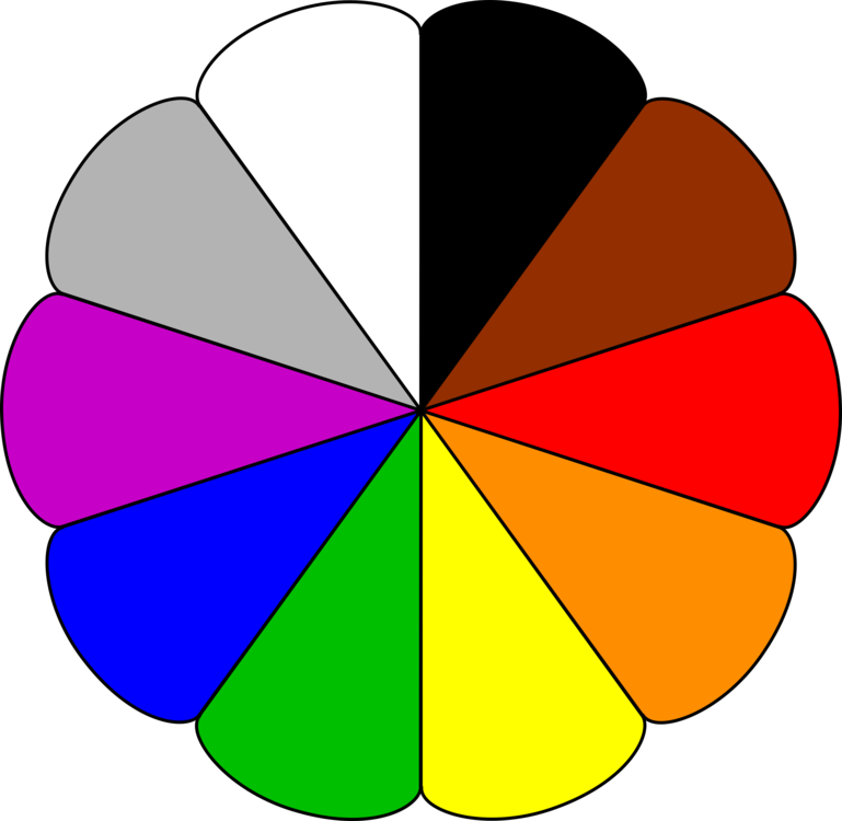 Color wheel clipart 2 » Clipart Station.