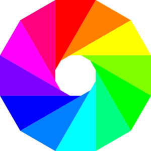 Color Wheel Dodecagon Clip Art at Clker.com.
