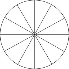 Download this blank color wheel and use your set of colored.