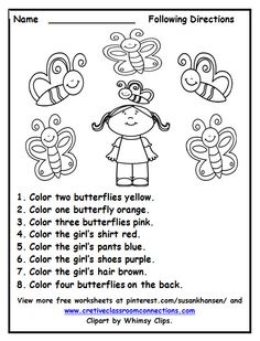 Color Lesson for the Little Students; I Know My Colors Worksheet.