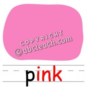 Color Word Yellow Clipart Black And White.