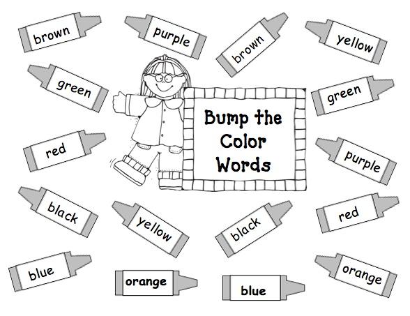 17 Best images about colors/color words on Pinterest.