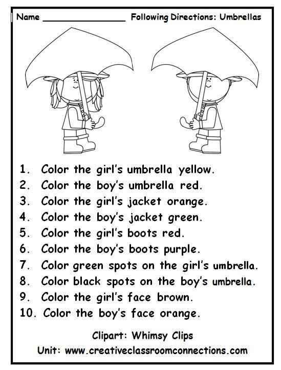 25+ best ideas about Color Words Kindergarten on Pinterest.