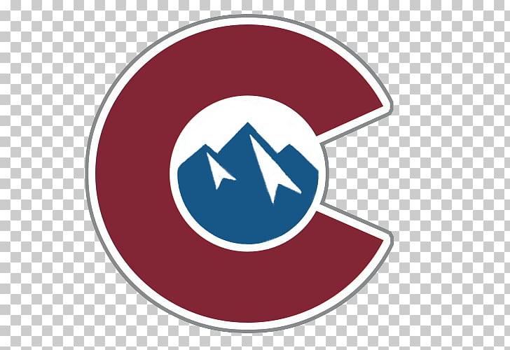Colorado Avalanche Logo Grinder Sandwich Co. Graphic design.