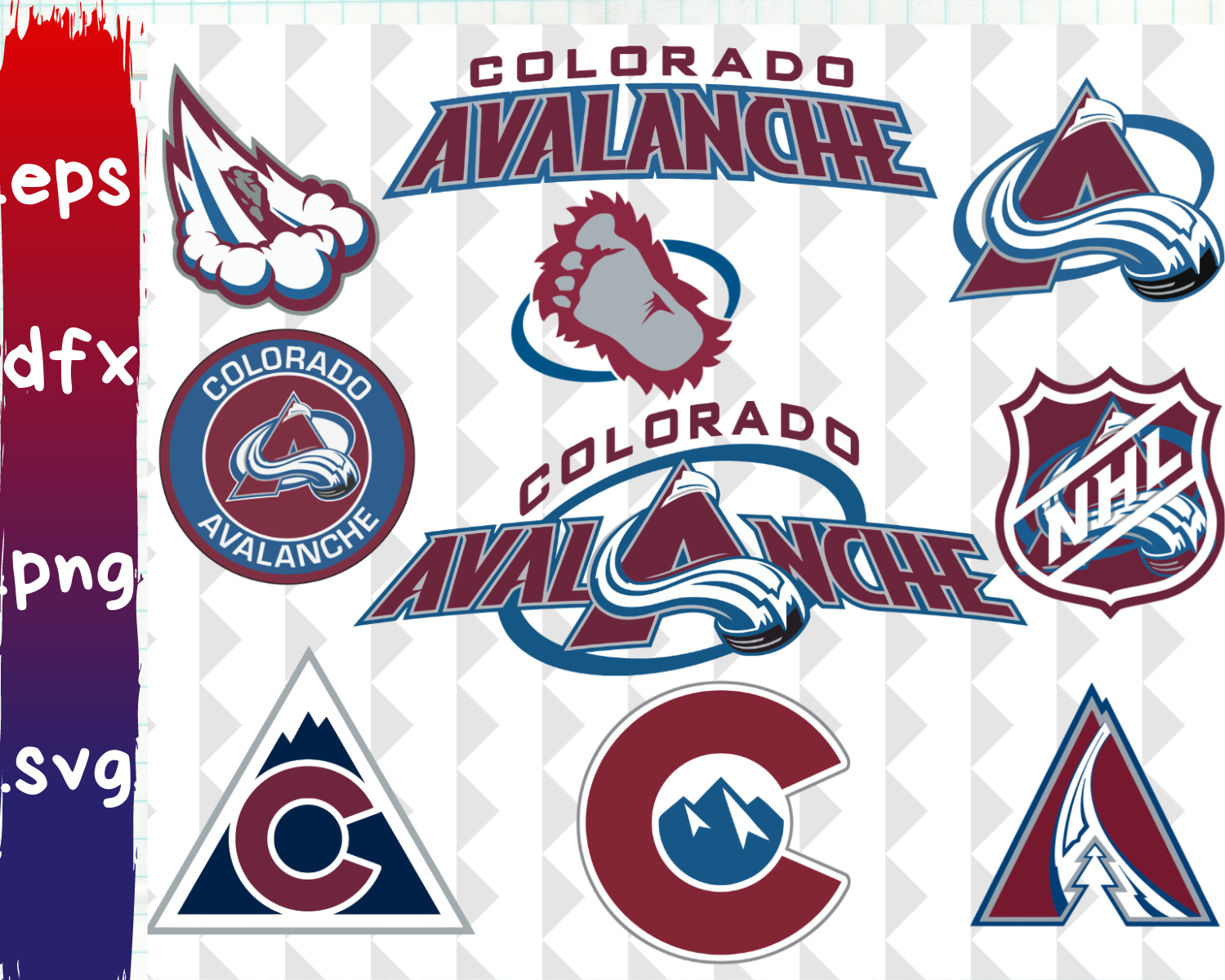 Colorado Avalanche, Colorado Avalanche svg, Colorado.