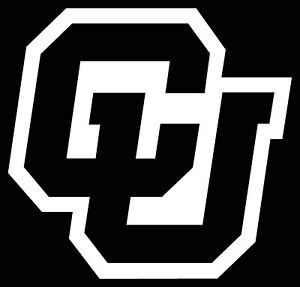 Details about COLORADO BUFFALOES LOGO CAR DECAL VINYL STICKER WHITE 3 SIZES.