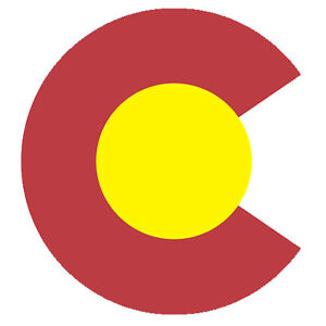 Details about Colorado C Logo Sticker Die Cut Decal CO Denver Boulder  Native Shape Flag.