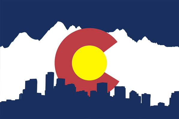 Colorado Clipart colorado flag 3.