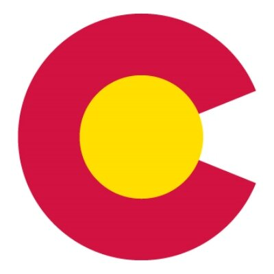 Colorado Font Clipart.