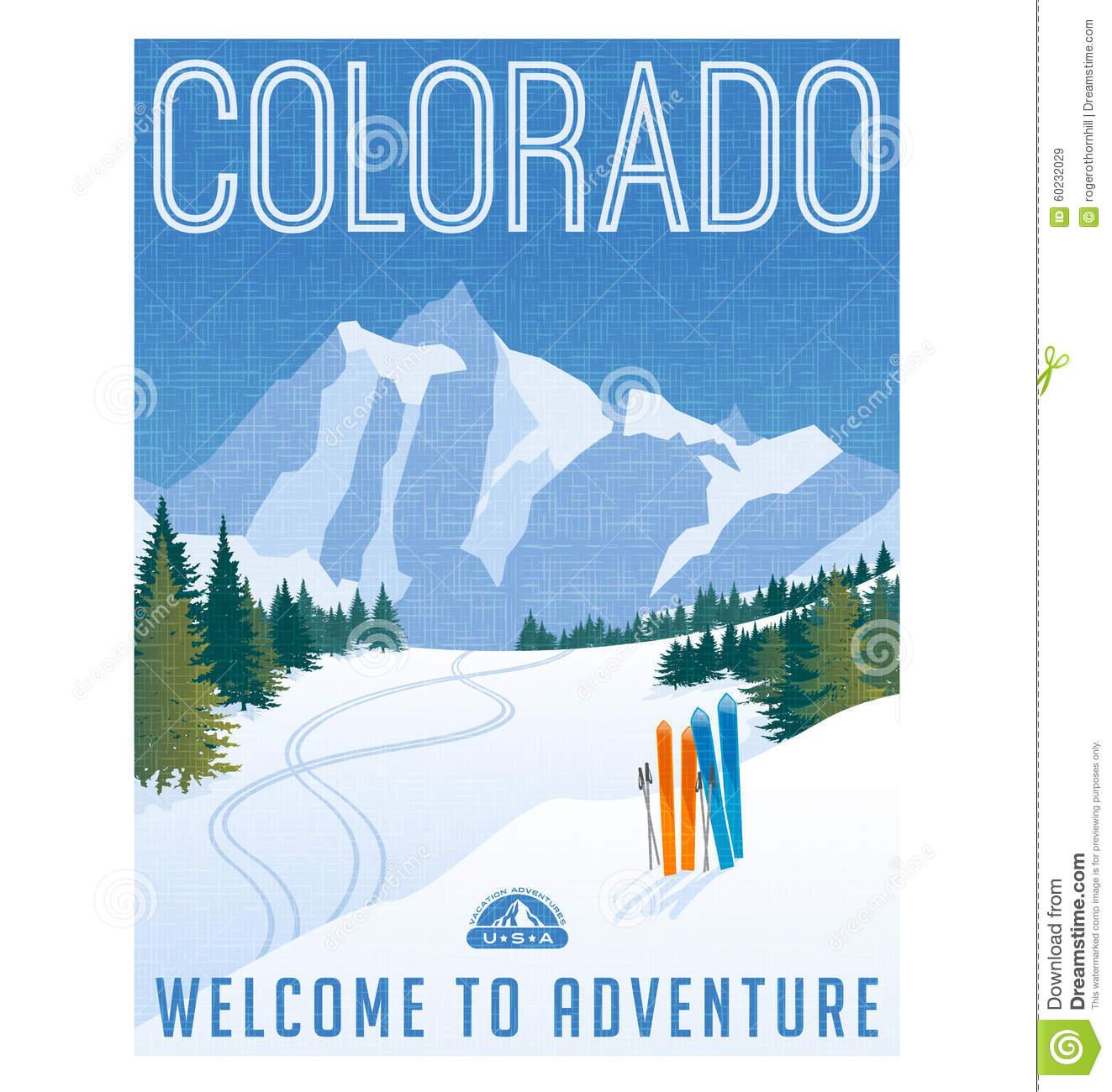 Colorado Stock Illustrations.