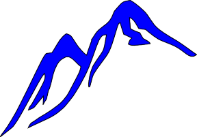 Colorado Mountain Clipart.