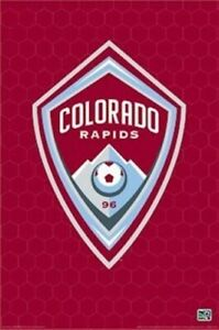 Details about COLORADO RAPIDS ~ LOGO 24x36 POSTER MLS Soccer NEW/ROLLED!.