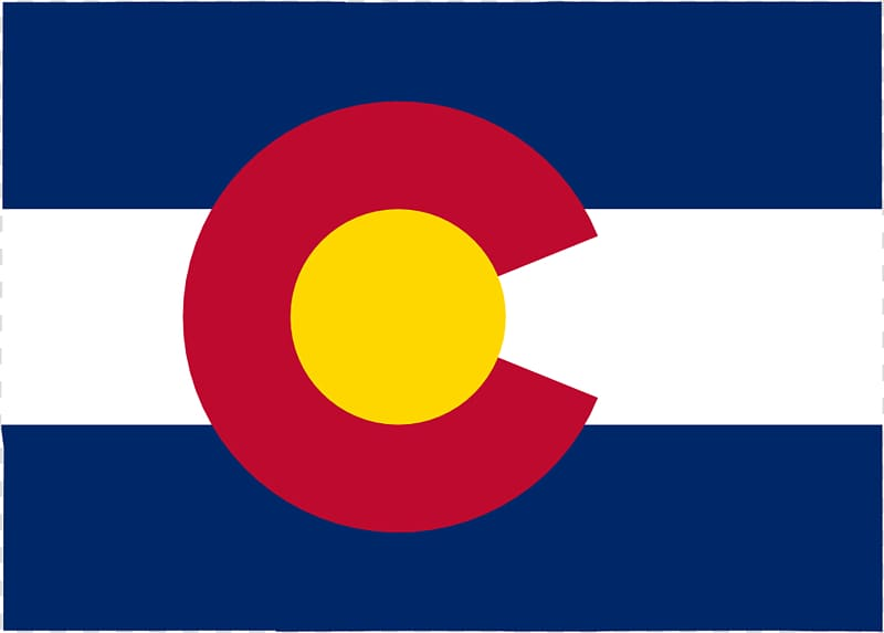 Flag of Colorado State flag Flag of the United States.