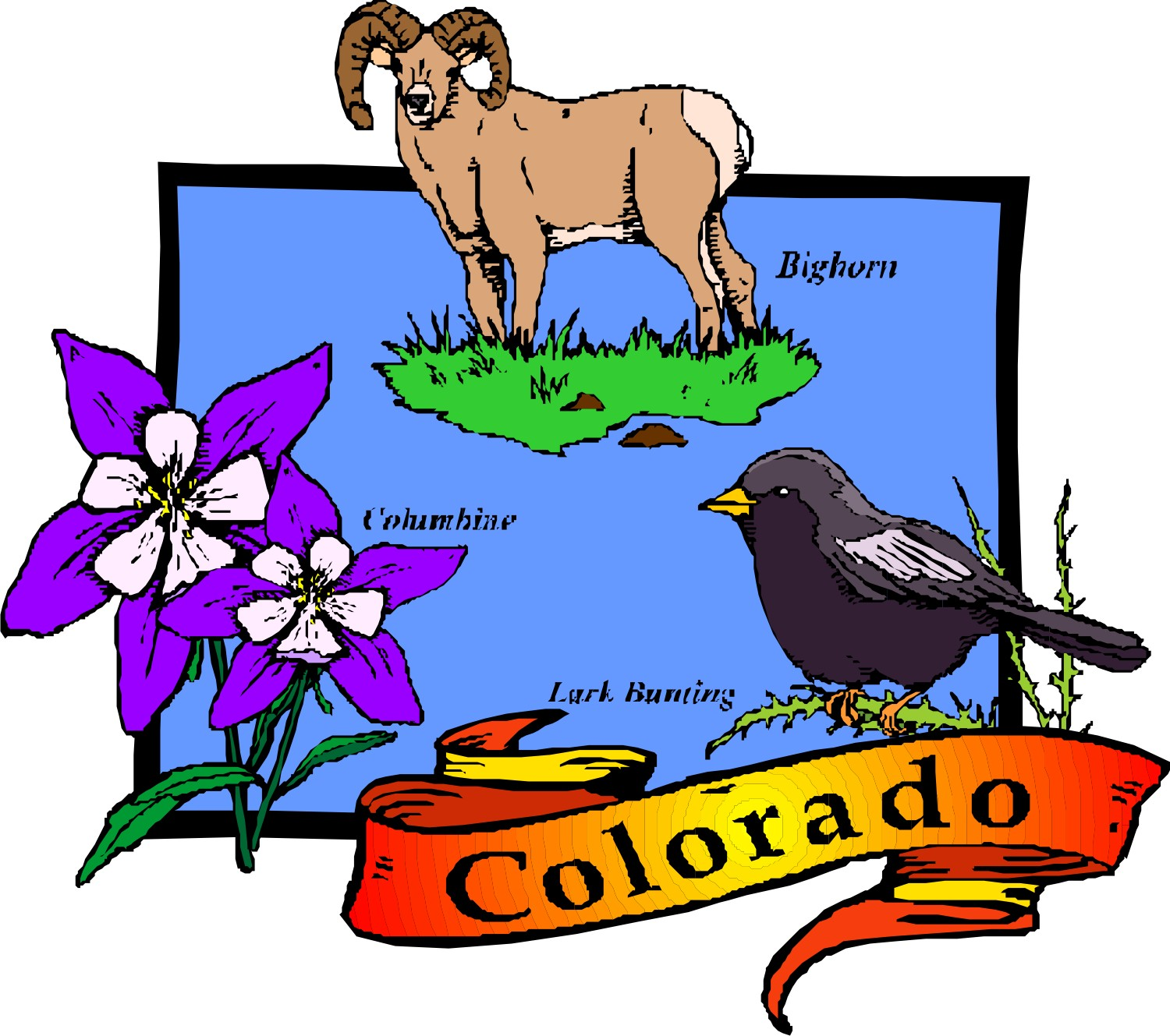 Colorado State Clipart at GetDrawings.com.