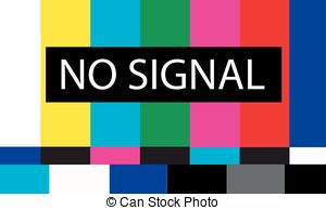 Tv colored bars signal Clip Art Vector and Illustration. 17 Tv.