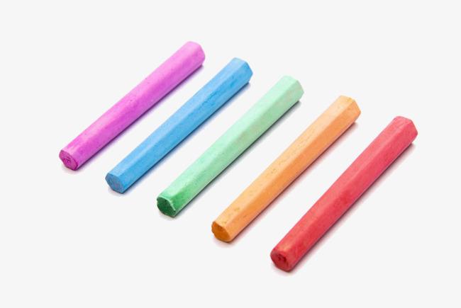 Colored chalk clipart 6 » Clipart Station.