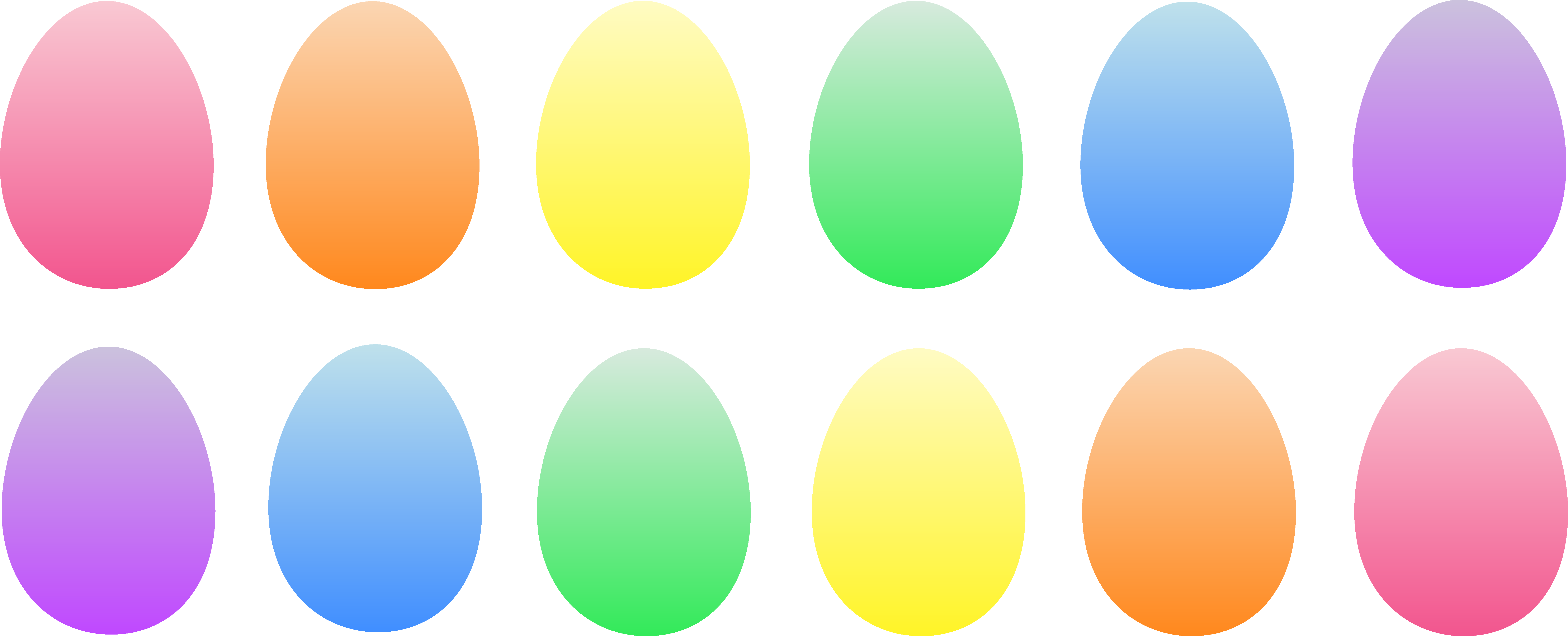 Colored Clipart.
