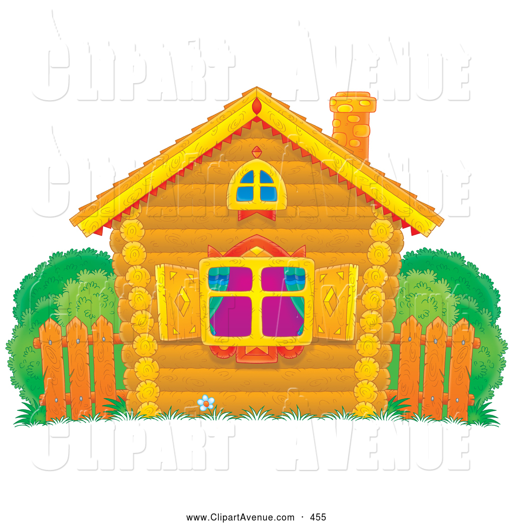 Royalty Free Stock Avenue Designs of Houses.
