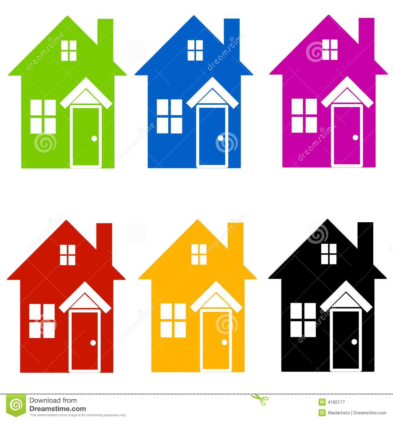 House color clipart.