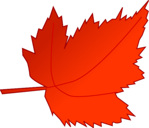 Fall color leaves clipart.