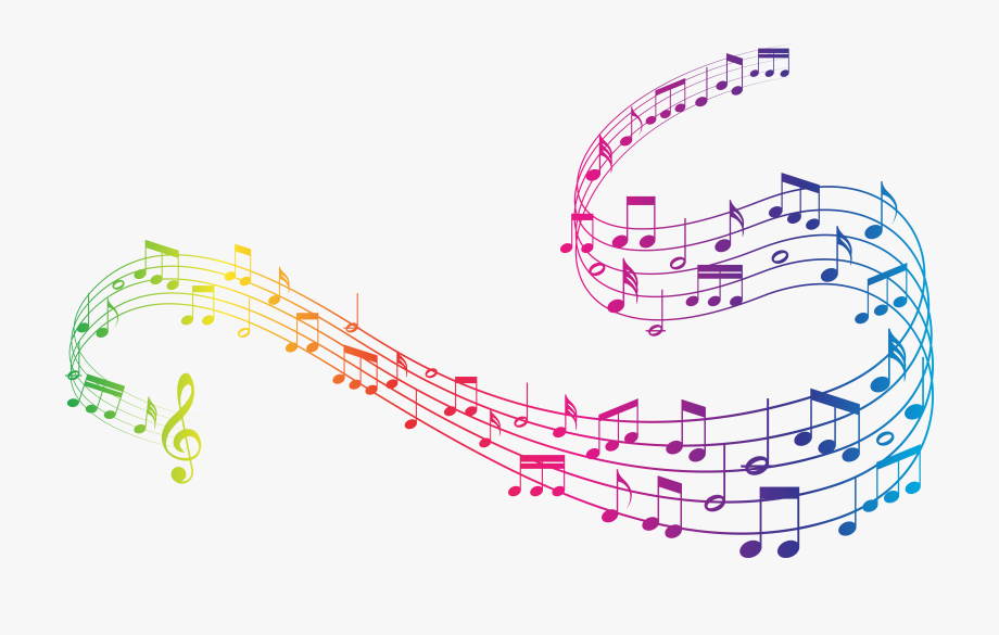 Colorful Music Clipart.