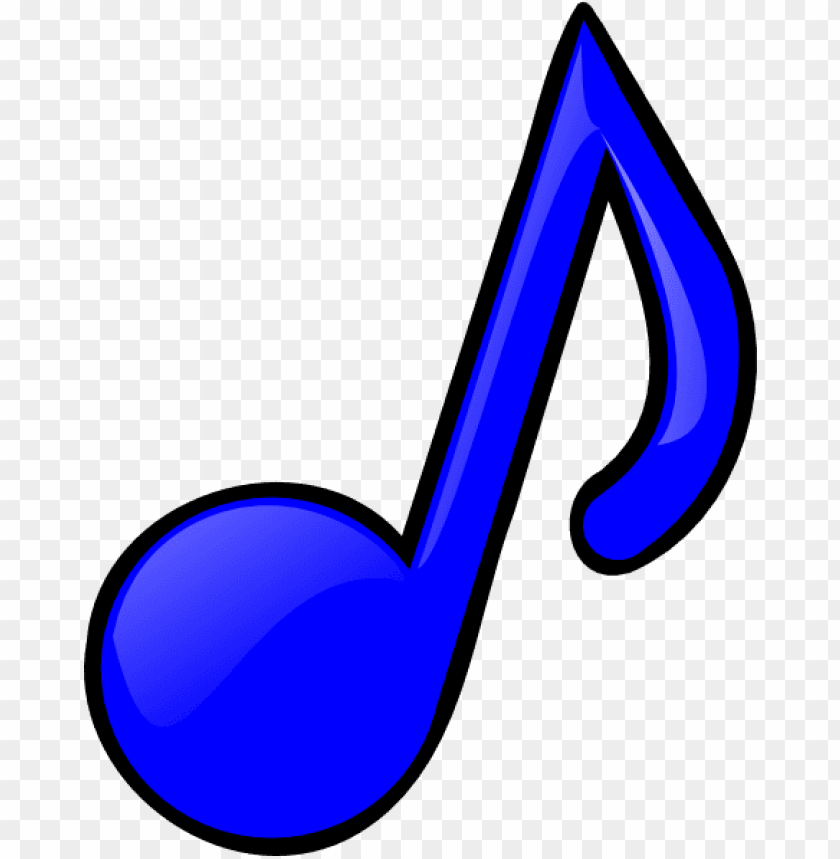 colorful music note clipart.