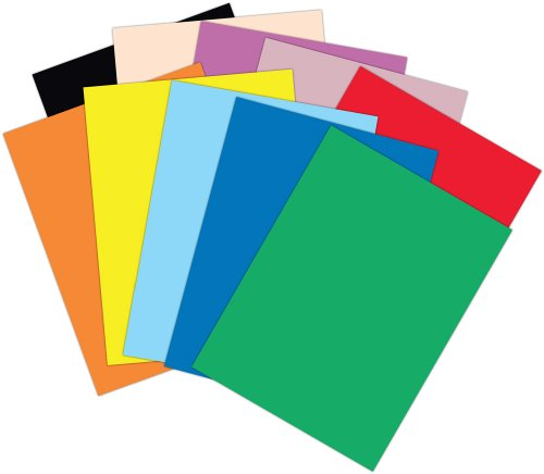 Colored Paper Clipart.