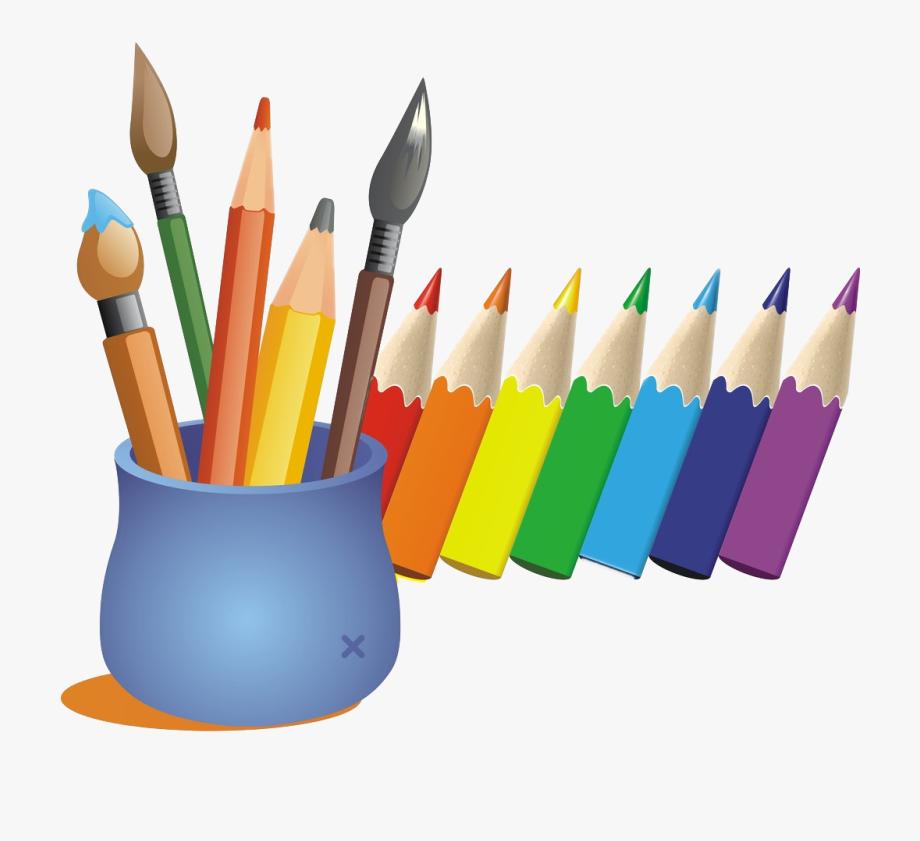 Cartoon Color Pen Transprent Png Free Download Ⓒ.