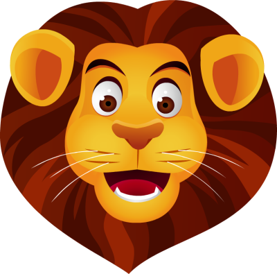 Cartoon Lion Face Pictures.
