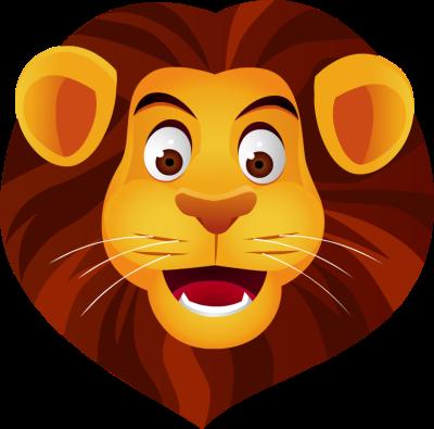 Cartoon Lion Face Pictures.